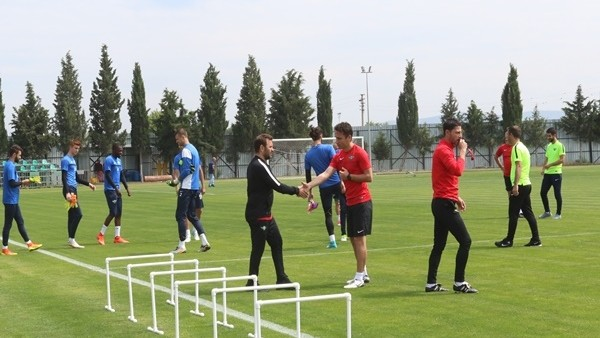 Akhisar Belediyespor'da Konyaspor maçı hazırlıkları