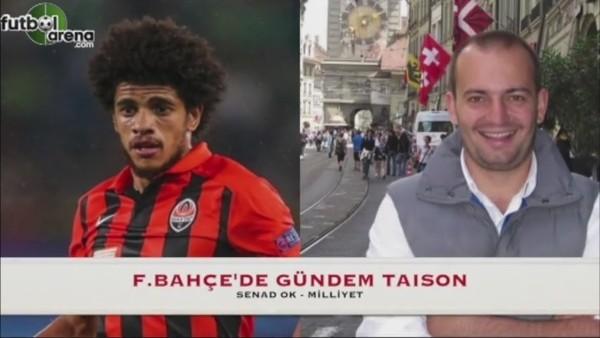 Fenerbahçe'de günden Taison!