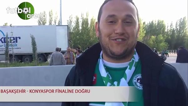 Başakşehir - Konyaspor finaline doğru