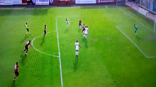 Ümraniyespor - Altınordu maçında olay! Önce golü verdi, sonra iptal etti