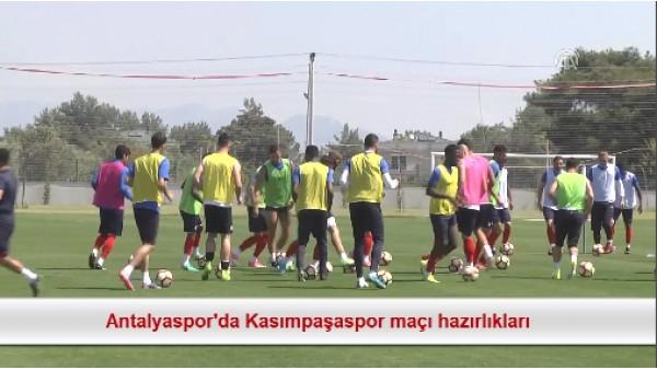 Antalyaspor'da Kasımpaşaspor maçı hazırlıkları