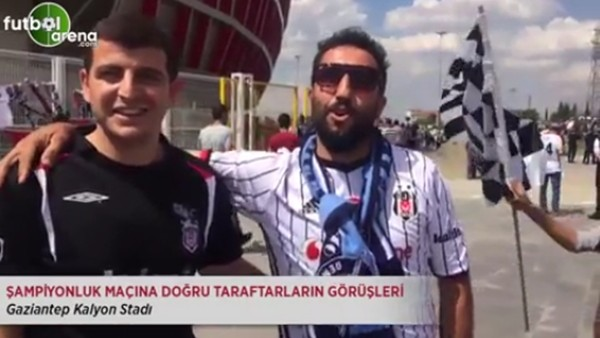 Şampiyonluk maçına doğru Beşiktaş taraftarların görüşleri
