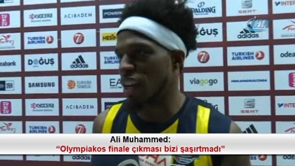 """Ali Muhammed: """"Olympiakos finale çıkması bizi şaşırtmadı"""""""