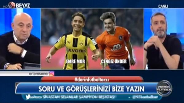 "Ahmet Çakar: ""Cengiz Ünder, Emre Mor'dan daha iyi"""