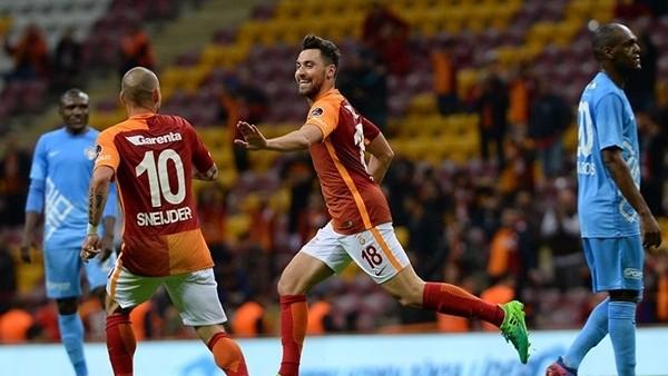 Galatasaray - Osmanlıspor maçından kareler