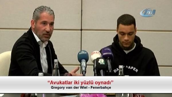 """Gregory van der Wiel: """"Avukatlar iki yüzlü oynadı"""""""
