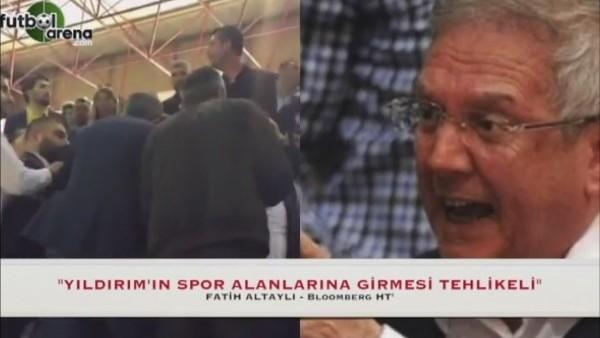 """Fatih Altaylı: """"Aziz Yıldırım'ın spor alanlarına girmesi tehlikeli"""""""