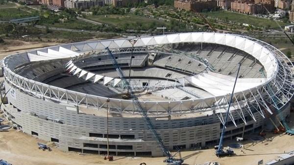 Atletico Madrid, yeni stadı için gün sayıyor