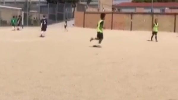 Ne de olsa Ronaldo'nun oğlu!