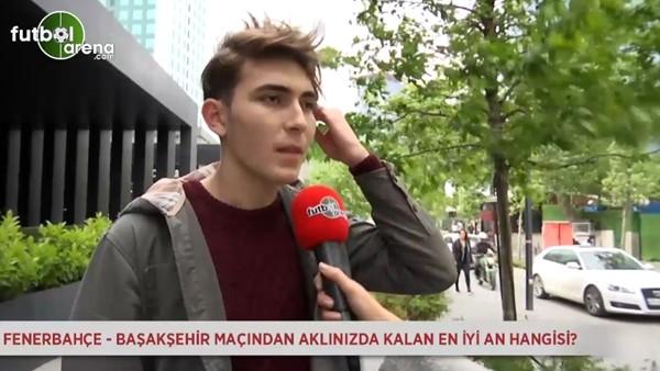 Fenerbahçe - Medipol Başakşehir maçındaki en iyi an hangisiydi?