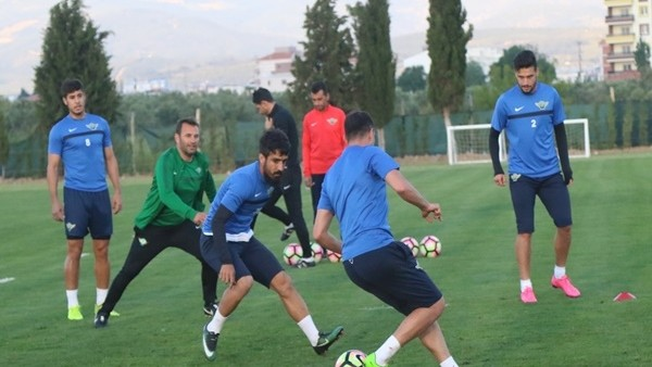 Akhisar Belediyespor'da Osmanlıspor maçı hazırlıkları