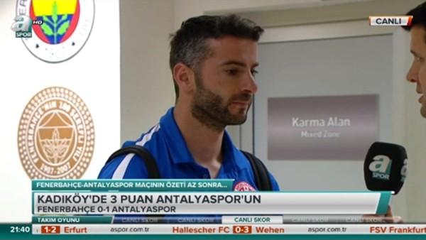 Ferhat Kaplan'ın Fenerbahçe maçı sonrası açıklamaları
