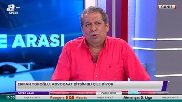 Erman Toroğlu: 'Fenerbahçe'de kabızlık var'