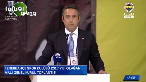 Ali Koç: ''2018'de başkanlığa adayım!''