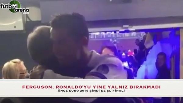 Ferguson, Ronaldo'nun peşini bırakmıyor