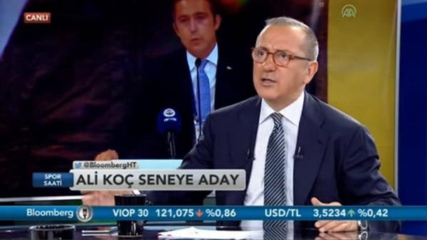 """Fatih Altaylı: """"Ali Koç, Aziz Yıldırım'dan daha Fenerbahçeli'dir"""""""