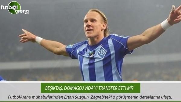 Beşiktaş, Domagoj Vida'yı transfer etti mi?