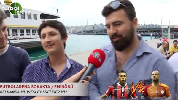 Belhanda mı, Wesley Sneijder mi?