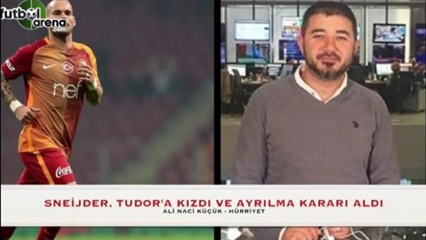 """""""Sneijder, Tudor'a kızdı ve ayrılma kararı aldı"""""""