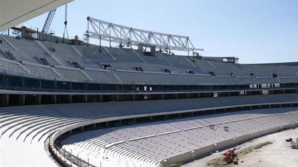 Atletico Madrid'in yeni stadı yükseliyor!