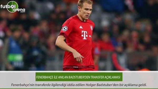 Fenerbahçe ile anılan Badstuber'den transfer açıklaması