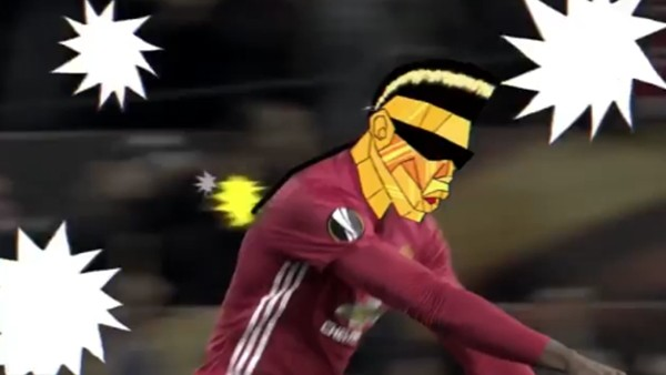 Pogba, Fenerbahçe'ye attığı golden klip yaptı