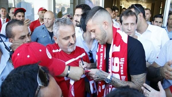 Jeremy Menez, Antalya'ya geldi