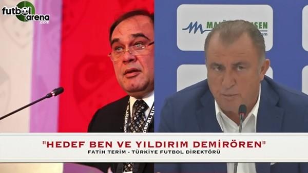 """Fatih Terim: """"Bu olayların hedefinde ben ve Demirören var"""""""
