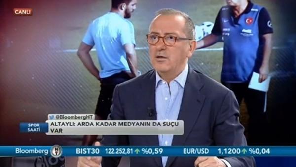 """Fatih Altaylı: """"Federasyon'un yatacak yeri var mı?"""""""