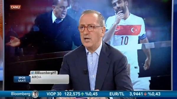 """Fatih Altaylı: """"Arda Turan'ı kullanan çakallar var"""""""