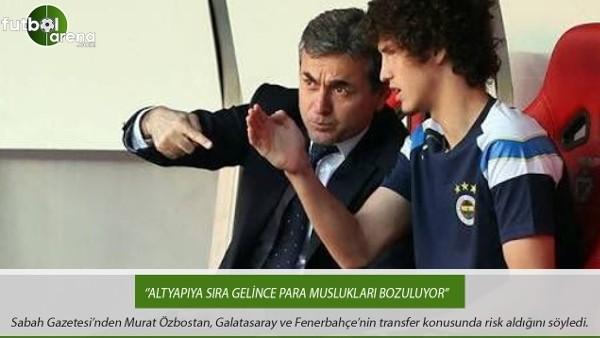 Murat Özbostan: ''Altyapıya sıra gelince para muslukları bozuluyor''