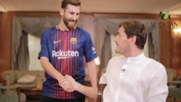 Iker Casillas, İranlı Messi'yle tanıştırılırsa!