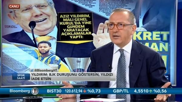 """Fatih Altaylı: """"Aziz Yıldırım'ın yerinde olsam Fikret Orman'a cevap vermem"""""""