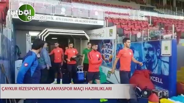 Çaykur Rizespor'da Alanyaspor maçı hazırlıkları