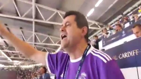 İspanyol gazeteci kendinden geçti!