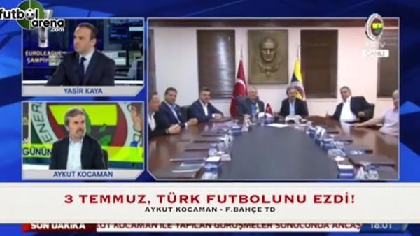 """Aykut Kocaman: """"3 Temmuz, Türk futbolunu ezdi"""""""