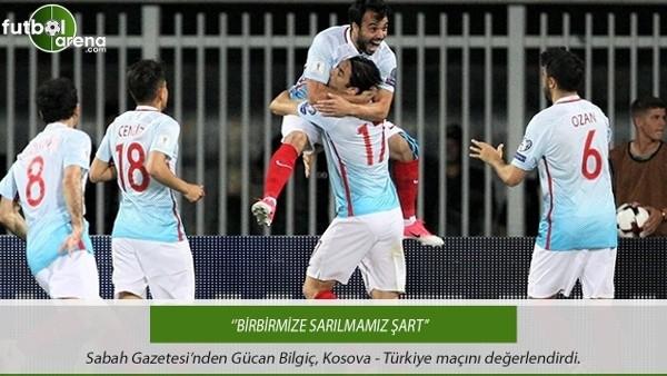 Gürcan Bilgiç: ''Birbirimize sarılmamız şart''