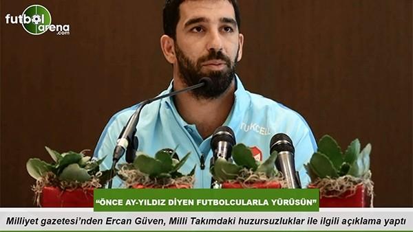 """Ercan Güven: """" Önce Ay-Yıldız diyen futbolcularla yürüsün"""""""