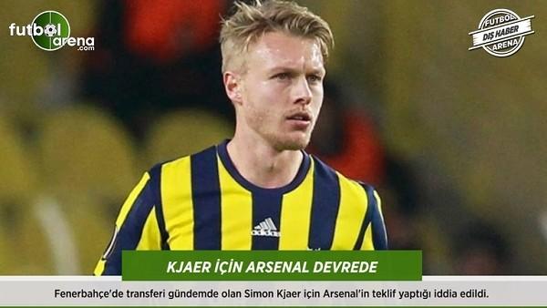 Kjaer için Arsenal devrede