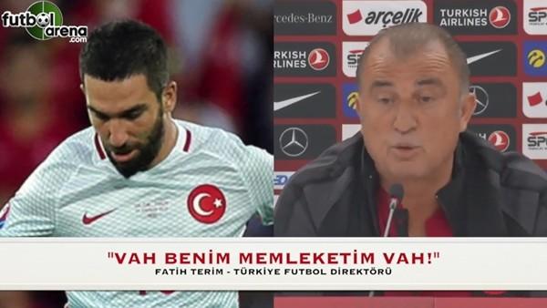 """Fatih Terim: """"Vah benim memleketim vah!"""""""