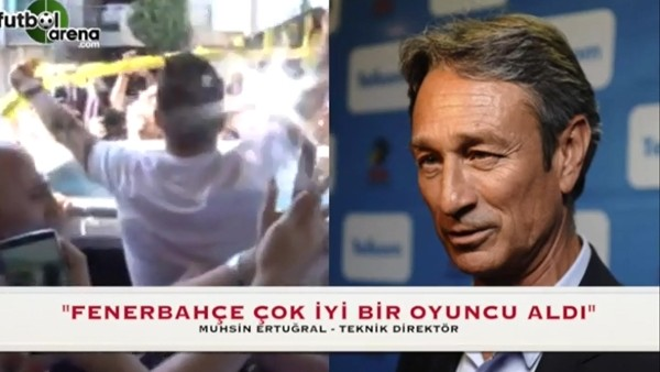 """Muhsin Ertuğral: """"Fenerbahçe çok iyi bir oyuncu aldı"""""""