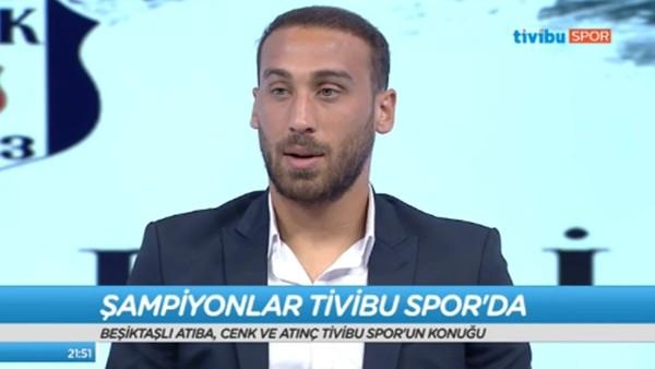 """Cenk Tosun: """"En büyük hedefim gol krallığı"""""""
