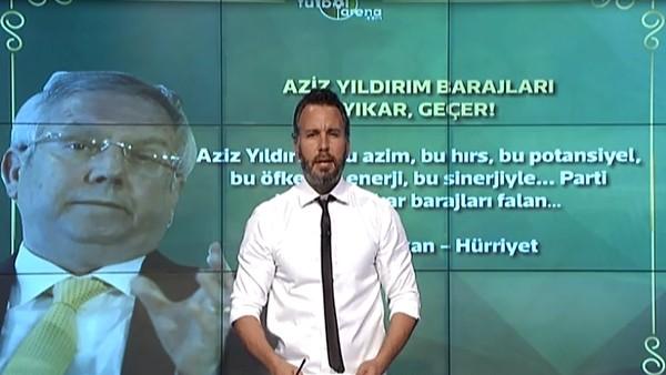 """Ahmet Hakan: """"Aziz Yıldırım barajları yıkar, geçer"""""""