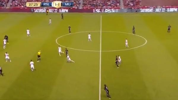 Romelu Lukaku, Manchester United formasıyla ilk golünü attı
