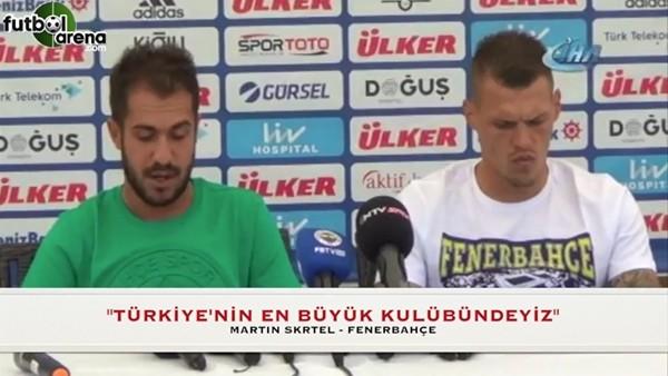 """""""Türkiye'nin en büyük kulübünde oynayan oyuncularız"""""""