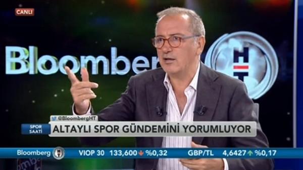 "Fatih Altaylı: ""Rıdvan Dilmen şu an siper vaziyette, tam şeytan"""