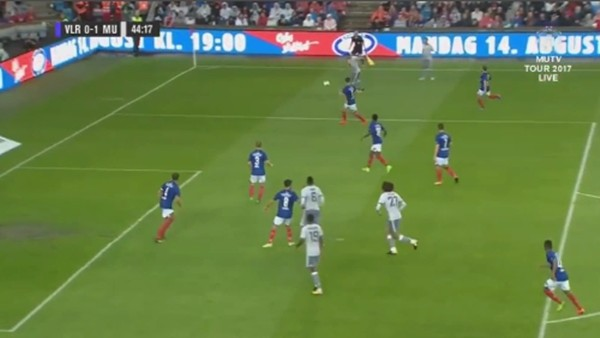 Fellaini'nin Valerenga'ya attığı kafa golü