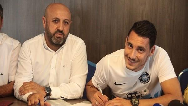 Adana Demirspor, Edin Rustemovic ile 2 yıllık sözleşme imzaladı