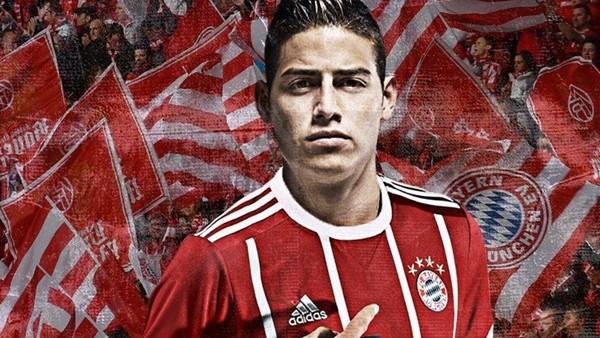 James Rodriguez resmen Bayern Münih'te!