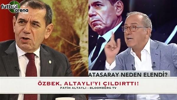 Fatih Altaylı canlı yayında çıldırdı!